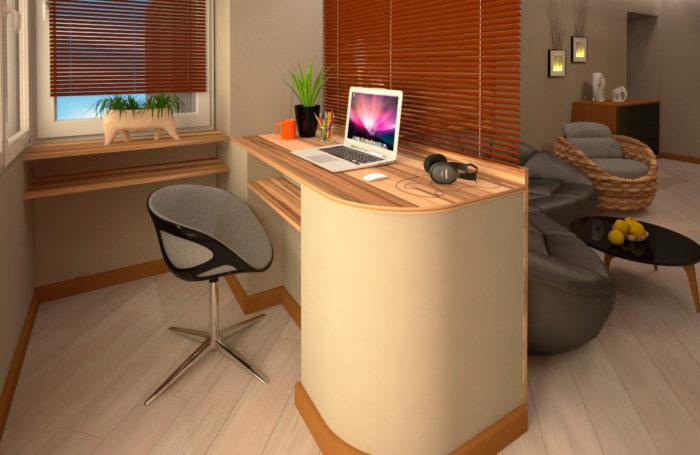 Проект-дизайн інтер'єру квартири в Трускавці