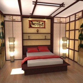bachelor-pad-bedroom-with-artistic-asian-style