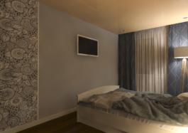 спальня дизайн інтер'єру