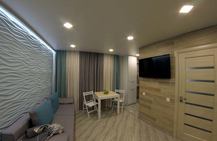 Дизайн квартири-студії.