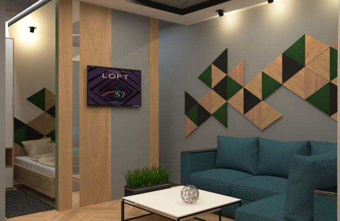 Дизайн квартири в стилі Лофт